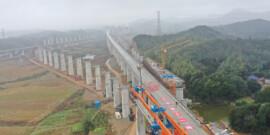 常益长铁路建设有了新进展