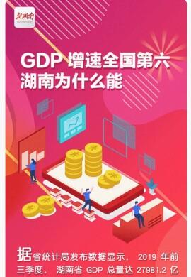 一图读懂|GDP增速全国第六,湖南为什么能