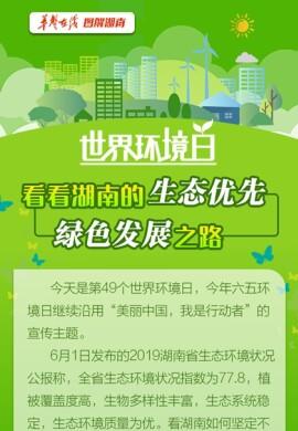 【图解】世界环境日 看看5分排列3-5分时时彩的生态优先、绿色发展之路