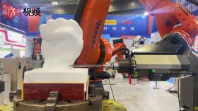 萌萌哒!长沙智博会上的机器人很吸睛