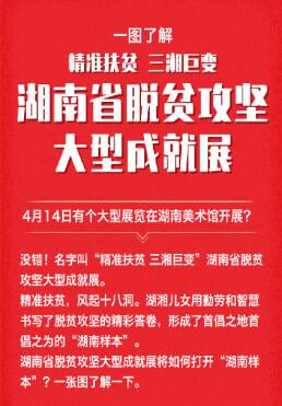 一图了解湖南省脱贫攻坚大型成就展