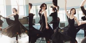 佟丽娅回母校跳舞 又美出了新高度!