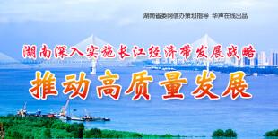 湖南实施长江经济带发展战略 推动高质量发展