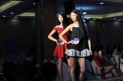 新丝路模特大赛长沙区晋级赛:双胞胎姐妹花亮眼