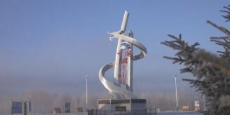 中国最冷小镇已-33℃ 冰雪美景仿若童话