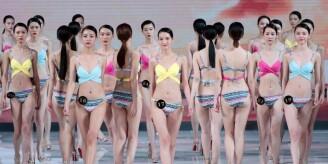 满眼都是大长腿!中国超模大赛举行