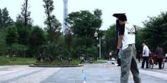 郴州永兴90后男生耍酷倒行滑冰压死幼童被逮捕