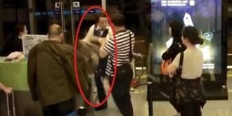机场女地勤遭旅客泼饭扇耳光羞辱