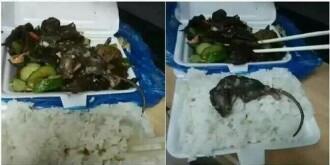 湖南衡阳一高校学生食堂吃出死老鼠(图)