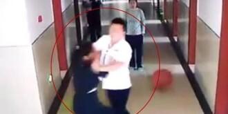 常德一男护工殴打女精神病人多人被问责