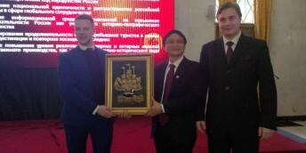 湖南组团参加2018年莫斯科国际旅游交易会