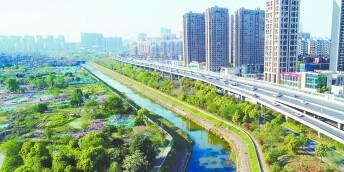 长沙首个4.0版海绵城市示范公园启建