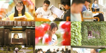 世界读书日 校园里的读书表情