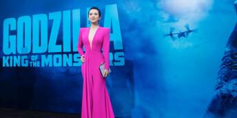 章子怡亮相《哥斯拉2: 怪獸之王》洛杉磯首映禮