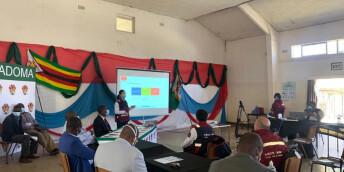中国抗疫医疗专家组在津巴布韦开展多省市医疗人员联合培训