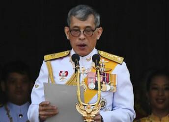 廢除貴妃后 泰王將6名王宮官員解職