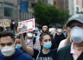 骚乱阻防疫 美国关闭约70个检测点