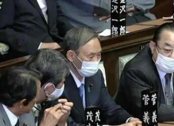 菅義偉正式當選日本首相