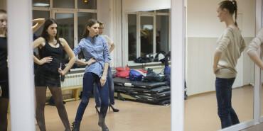 俄罗斯的女神训练营 西伯利亚训练最美模特