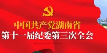 【专题】聚焦湖南省十一届纪委三次全会