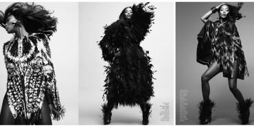 """法国版《Vogue》九月刊 """"老米""""仙子教拍片"""
