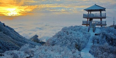 长沙初雪:市区难觅雪 沩山、大围山银装素裹