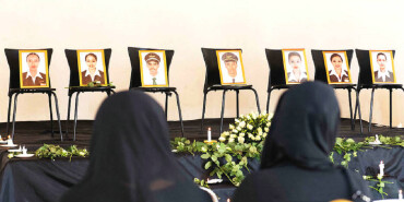 埃塞航坠机遇难者家属痛哭悼念