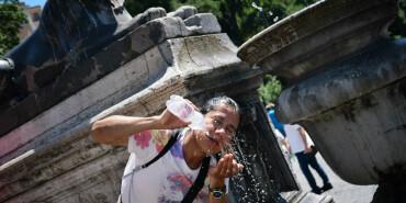 40度高溫侵襲羅馬