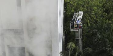 印度孟買:火場救援