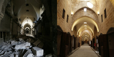 逐步恢复的阿勒颇传统集市