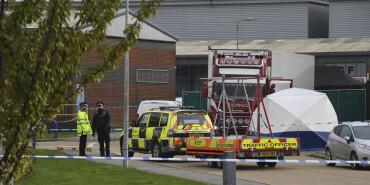 英國警方在貨車內發現39具尸體