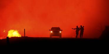 美國山火肆虐