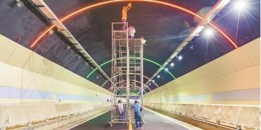 湘西经开区马鞍山隧道即将通车