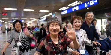 日本最大规模遗孤代表团赴中国感恩中国养父母