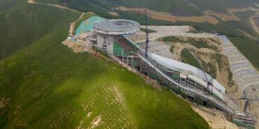 探访2022北京冬奥会场馆建设现场