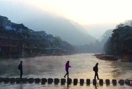 雪后初晴:湖南各地风景如画
