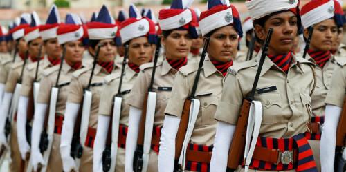 高清纪实:印度独立70周年庆典
