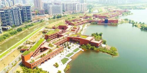 """湘江新区58小镇:""""公园里的世界创新场"""""""