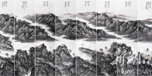 """刘应雄:""""新潇湘八景""""中国画第一人"""