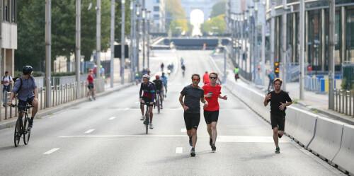 比利时布鲁塞尔:疫情下的无车日
