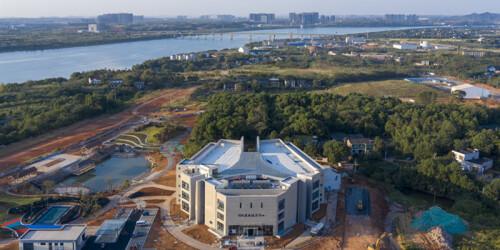 竹埠港创新发展服务中心完工