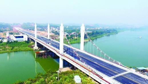 桂花大桥即将通车