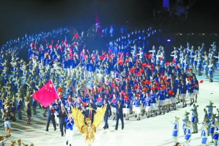 第18届亚运会在印尼雅加达开幕