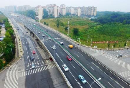 长沙湘府西路主线放开交通