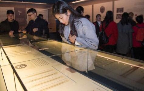 湖南地区出土简牍展在长沙简牍博物馆开幕