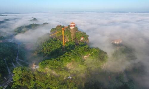 雾漫太平山
