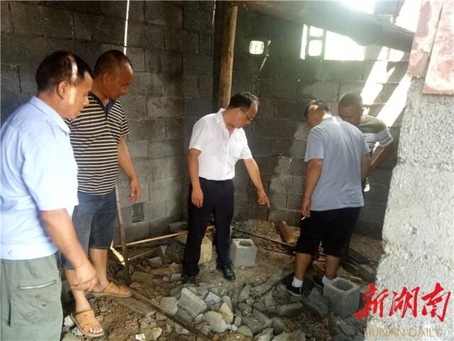 湖南凤凰:廖家桥镇新时代文明实践助力人居环境整治