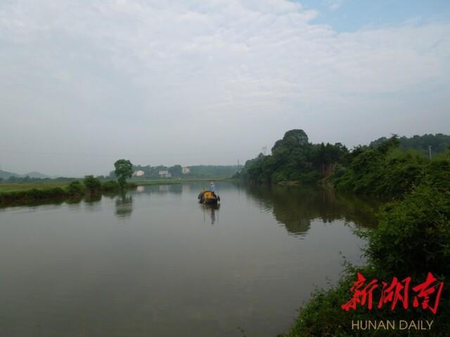 """【新湖南】""""清凌凌的横江铺河又回来了"""""""