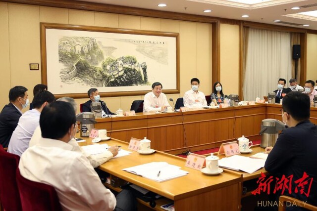 湖南代表團分組審議全國人大常委會工作報告 杜家毫許達哲等作討論發言