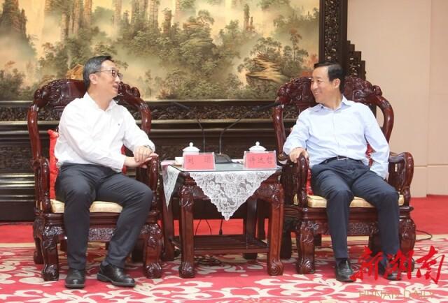 省政府與交通銀行會談 許達哲劉珺出席